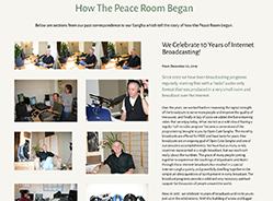 PEACE ROOM PROJECT PAGE