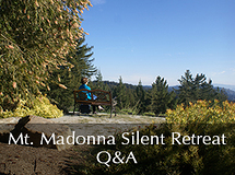 Silent Retreat Vol. 70 ~ Q&A Sessions