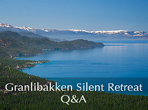 Silent Retreat Vol. 72 ~ Q&A Sessions