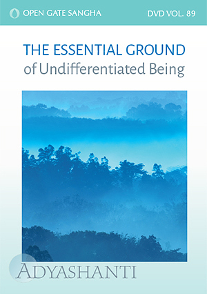 The Essential Ground of Undifferentiated Being - Vol. 89