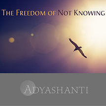 The Freedom of Not Knowing
