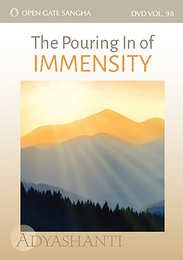 The Pouring In of Immensity - DVD 98