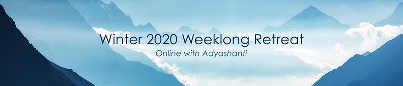 Winter 2020 Weeklong Retreat