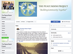 PEACE ROOM PROJECT FACEBOOK PAGE